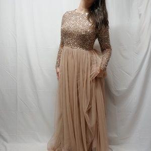 ASOS Dresses - new (asos) MAYA TALL Sequin Top Tulle Maxi Dress